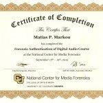 Forensic Audio Authentication Matias Markou