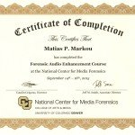 Forensic Audio Enhancement Matias Markou
