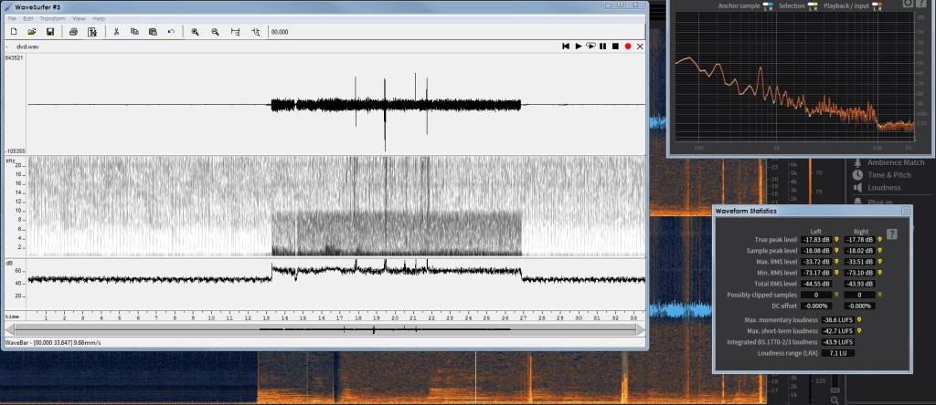 wavesurfer and iZotope 1024x444 - Forensic Audio Analysis Services