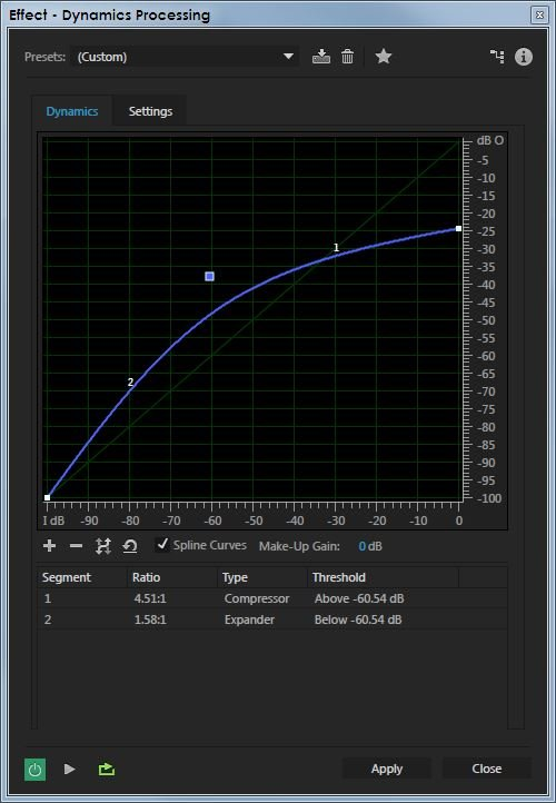 Using a Compressor for Forensic Audio Enhancement
